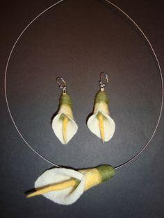 Callas Kette mit Ohrringen