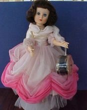 """Lovely American Character 20"""" Sweet Sue with Flexible Foot in Formal from 1957."""