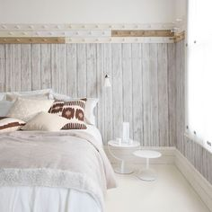 love the textures on this bed. From House to home