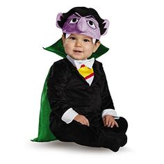 Sesame Street Count Deluxe Infant Costume by Disguise Infant Girl's, Size: Months, Multi Bird Costume Kids, Elmo Costume, Monster Costumes, Toddler Halloween Costumes, Halloween Fancy Dress, Baby Costumes, Baby Halloween, Cool Costumes, Halloween 2017