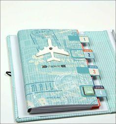 Globe trotter carnet de voyage DT Tacha 10p