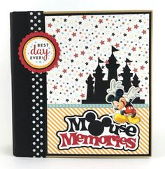 Disney Scrapbook Album DIY Kit or Premade Vacation 24 pages by ArtsyAlbums | Etsy