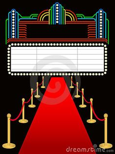 Red carpet under sportlight vector free vector hollywood red red carpet premier marqueeeps hollywood lightsvector stopboris Images