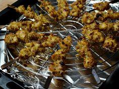 Poulet satay cuit au four