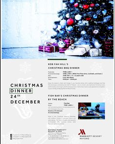 Christmas is not only about the gifts importance is sharing and spreading joy with family & friends. Let's celebrate the moment with our special dinner packages on 24th Dec. Book now!! 038998000