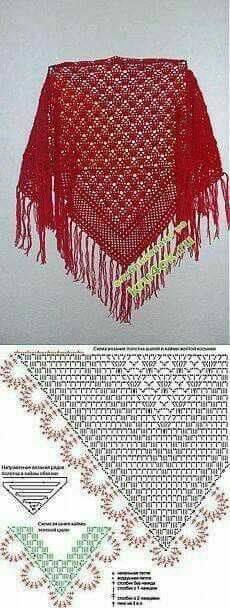 Exceptional Stitches Make a Crochet Hat Ideas. Extraordinary Stitches Make a Crochet Hat Ideas. Poncho Crochet, Crochet Bolero, Crochet Shawls And Wraps, Crochet Diagram, Crochet Chart, Love Crochet, Knitted Shawls, Crochet Scarves, Diy Crochet
