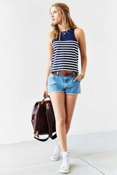 BDG Anchors Away Tank Top - Urban Outfitters