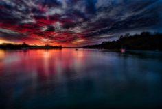 Glorious Sunset - Auckland, New Zealand - EXPLORED
