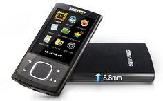Samsung YP-RO 8GB MP3 Player (Black): MP3 Players
