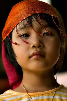 Tibetian child