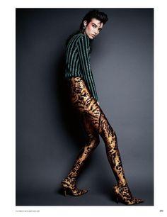 Grace Hartzel | Rock Star Fashion Editorial | Vogue Russia Cover