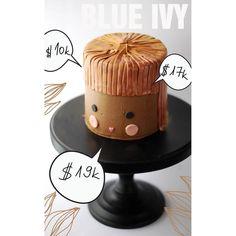 cake Nr. 1. | last night.💙Blue Ivy gets in bidding war at #wearableartgala #bluivy @blueivy.carter #ediblegold #cakesfortwo @beyonce Blue Ivy, Last Night, Wearable Art, Beyonce, War