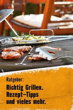Alle Tipps rund ums Grillen. Outdoor Cooking, Beef, Tips And Tricks, Meal, Recipes