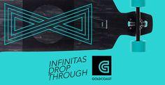 Goldcoast Infinitas Drop Through. #fridom #goldcoast #longboard