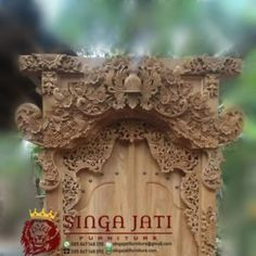 Model Pintu Gebyok Ukiran Bali Modern Kayu Jati Terbaik Bali, Modern, Furniture, Trendy Tree, Home Furnishings, Arredamento