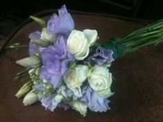Lavender Lisianthus and Roses