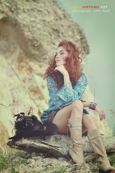 Talent : Maria Vitsentsatu Anastasius Makeup & Wardrobe by Untung Art Photo by Jeffry Junanto (Njeff)
