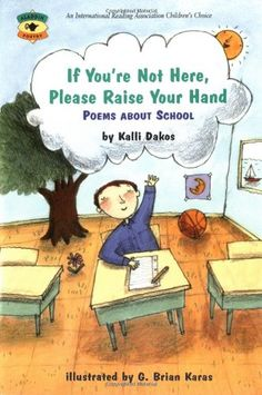 For every student who's ever worried about spending a lifetime in the third grade and for every teacher who's faced a class where nobody remembered to bring milk money, these 38 poems capture the excitement, challenge, heartbreak, and wonder of life in elementary school. Through her fresh, lively word pictures, Dakos manages to find surprises in every corner of the school.