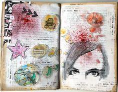 Scrapmanufaktur: altered book - art journal