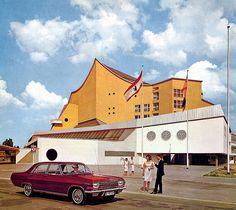 1965 Opel Admiral - Berlin | 1965 Opel calender - West Berlin, Germany