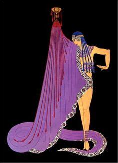 Slave of Salome, George Whites Scandals - Erté