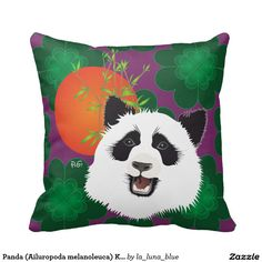 Panda (Ailuropoda melanoleuca) Kissen