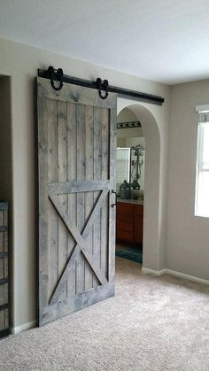 Image result for barn doors on bathrooms