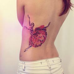 Colorful Minimal Tattoos by Sasha Unisex
