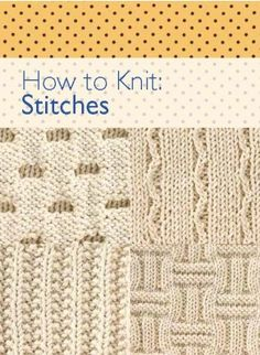 How to Knit: Stitches Knitting eBook