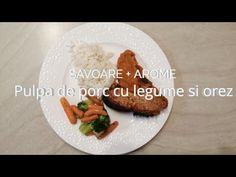 Pulpa de porc cu legume si orez - Savoare si arome - sezon 5, episod 8 - YouTube Food Videos, Grains, The Creator, Rice, Breakfast, Youtube, Pork, Morning Coffee, Seeds