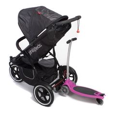 A scooter thats also a buggy board - genius! Will turn our phil and teds into a carriage made for 3!