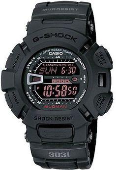 Casio G-Shock Mudman Black Military Watch G9000MS-1 - watches, cartier, mvmt, kate spade, cartier, cool watch *ad