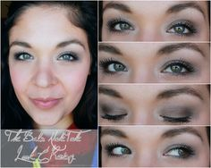 Natural Eye Make Up with the Nude Tude palette via @Maria Canavello Mrasek Gridley #makeup #eyeshadow #eyes