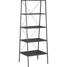 CB2 Hancock Bookshelve Bookcase (Modern Transitional Shelving) Steel
