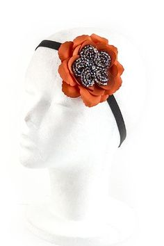 Trendy Jewelry - BEADED FLOWER HEADBAND - By Fashion Destination | Free Shipping (Navy) Fashion Destination, HAIR ACCESSORIES to buy just click on amazon here  http://www.amazon.com/dp/B00COKQPFS/ref=cm_sw_r_pi_dp_pRGxsb0Y2E7KXTB2