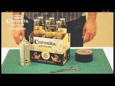 Cómo hacer una cámara Pinhole con un 6 pack de Coronita