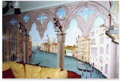 Plus de 1000 id es propos de fresques murales sur pinterest interieur peintures murales et - Deco trompe l oeil muurschildering ...