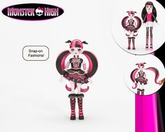 Monster High Snap-On Fashions Figure? Another Monster High Mystery! ;)