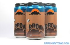 Coconut Brown from Blackrocks Brewing in Marquette, Michigan