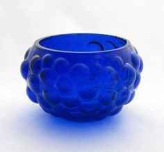 Malja 2556 - Kumela-Lehtonen, Sirkku Finland, Decorative Bowls, Nice Things, Tableware, Royal Blue, Nostalgia, Design, Home Decor, Diy Kid Jewelry