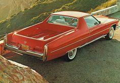 "doyoulikevintage: ""1975 Cadillac Eldorado Pickup "" vintage"