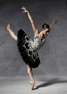 English National Ballet's Fernanda Oliviera in Moschino.