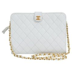 Check out this item at One Kings Lane! Chanel White Medium Bag