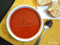 Tomato Herb Soup - Budget Bytes