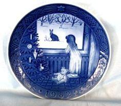 Royal Copenhagen Christmas plate