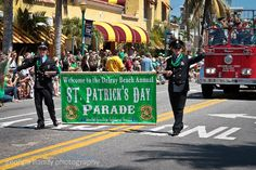 The Delray Beach St. Patrick's Day Parade celebrates Irish heritage while honoring the service of the International Firefighters. Tell Me Something Good, Palm Beach County, Delray Beach, Beach Holiday, Event Calendar, Firefighters, Upcoming Events, Night Life, Irish