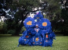 MARDI GRAS INDIANS by Christopher Porché West - Carrolton Hunters