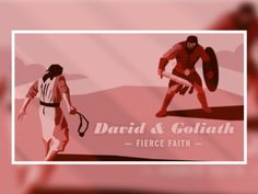 David & Goliath designed by Tim Medina. Connect with them on Dribbble;