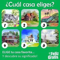 DE TODO UN POCO: El test de las casas.