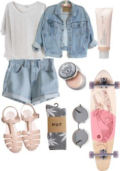 """The kids just want to have fun."" by livimoree ❤ liked on Polyvore"